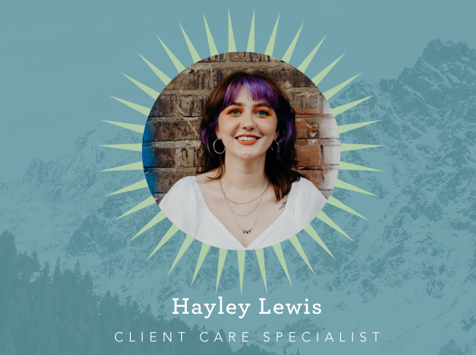 Hayley Lewis, Client Care Specialist